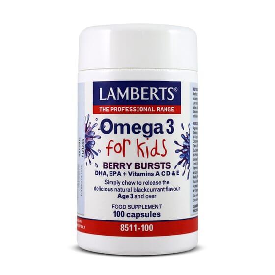 Omega 3 For Kids 100 Caps de Lamberts
