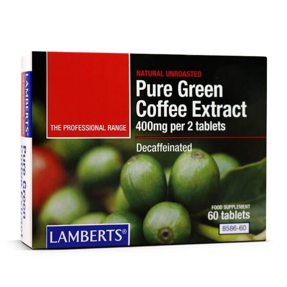 PURE GREEN COFFEE EXTRACT 60 Tabs - LAMBERTS