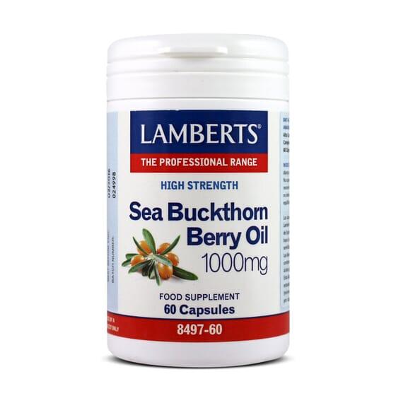 Sea Buckthorn Berry Oil1000Mg 60 Caps da Lamberts