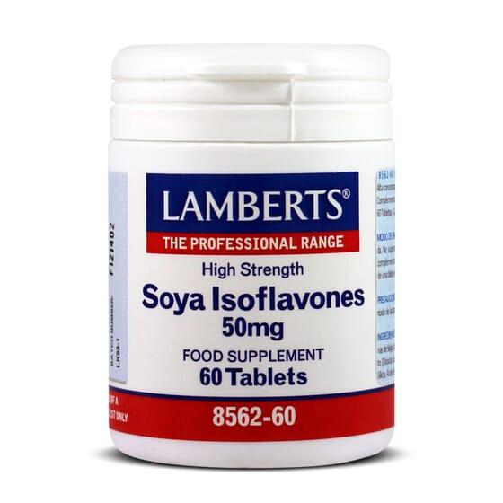 Soya Isoflavones 50Mg 60 Tabs da Lamberts