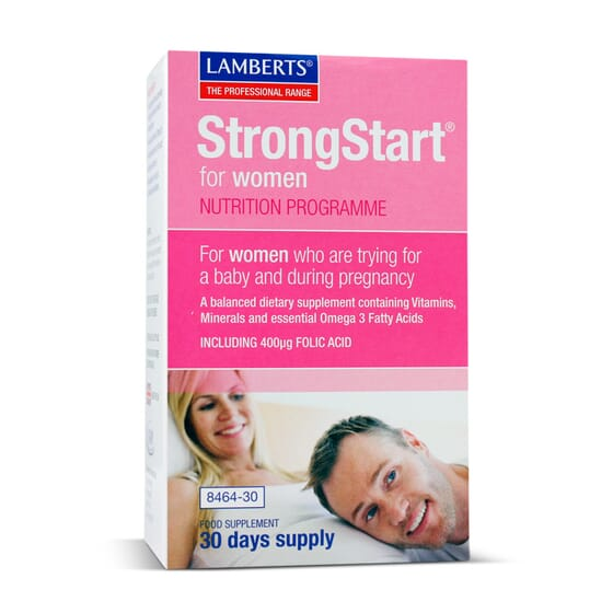 STRONGSTAR FOR WOMEN 30 Comprimés + 30 Gélules - LAMBERTS