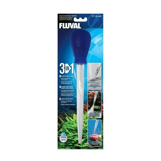Aspirador y Dosificador 3 En1 28 cm  de Fluval