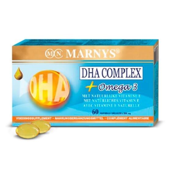DHA Complex 60 Caps de Marnys