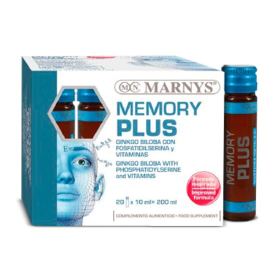 MEMORY PLUS 20 x 10ml - MARNYS