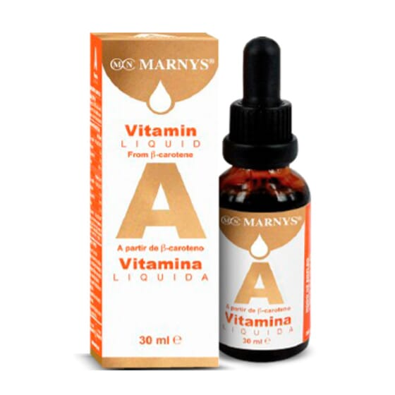 Vitamina A Líquida 30ml de Marnys