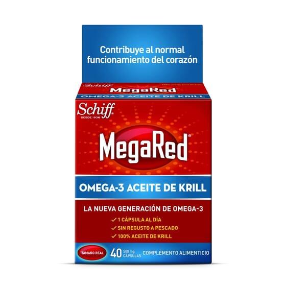 MEGARED OMEGA 3 ACEITE DE KRILL 40 Caps - MEGARED