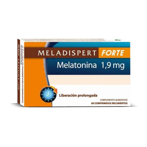 Meladispert Forte Melatonina 1,9mg 60 Tabs de Meladispert