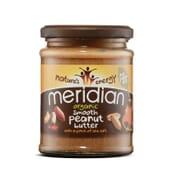 Crema De Cacahuete Orgánica Con Sal Marina 280g de Meridian Foods