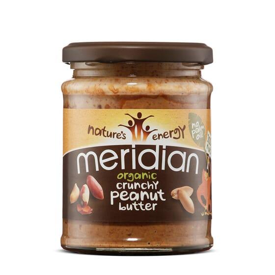 Creme De Amendoins Orgânicos Crocante 280g da Meridian Foods