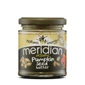 Creme De Sementes De Abóbora Orgânicas 170g da Meridian Foods