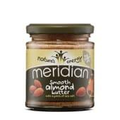 Crema De Almendras Con Sal Marina 170g de Meridian Foods