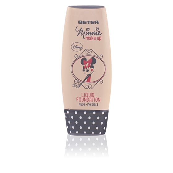 MINNIE BASE DE MAQUILLAJE FLUIDO #1 NUDE 35 ML de Beter