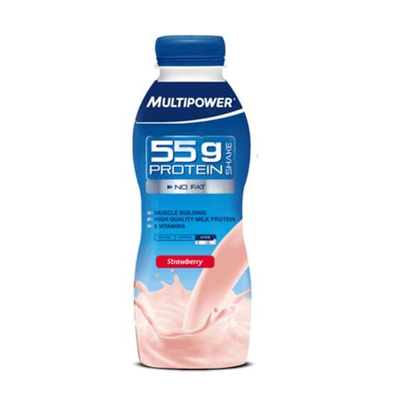PROTEIN SHAKE 55 g - 500ml - MULTIPOWER