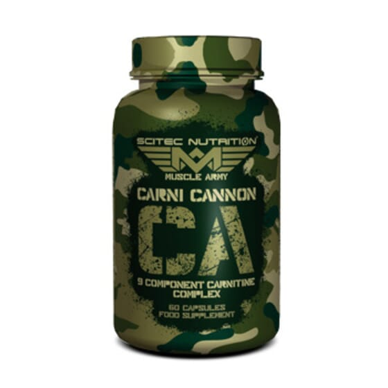 CARNI CANNON 60 Caps - MUSCLE ARMY