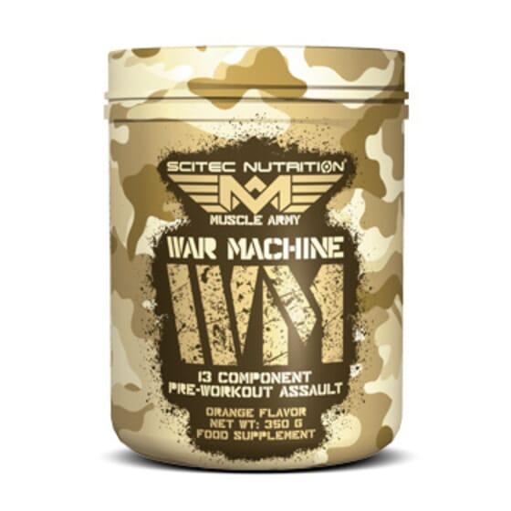 WAR MACHINE 350g - MUSCLE ARMY