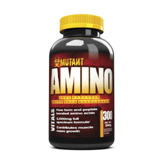Mutant Amino 300 Tabs de Mutant