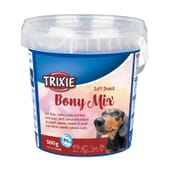 Bony Mix Con Ternera, Cordero, Salmon Y Pollo 500g de Trixie