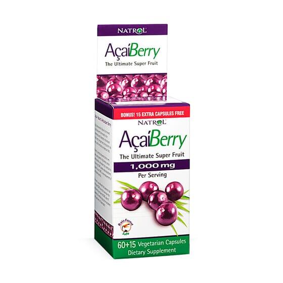 Acai Berry 1000Mg - 60+15 Caps da Natrol