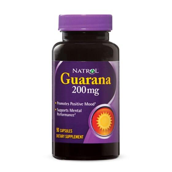 Guaraná 200Mg 90 Caps da Natrol