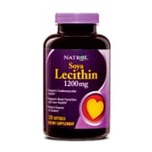 SOYA LECITHIN 1200mg 120 Softgels - NATROL