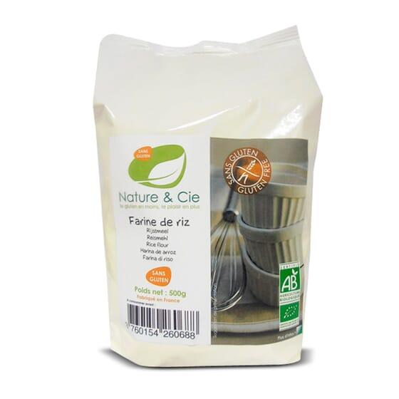 Harina De Arroz Sin Gluten 500g de Nature & Cie