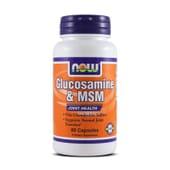 GLUCOSAMINE & MSM 60 Caps - NOW FOODS