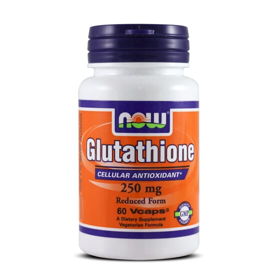 Glutathione 250mg 60 Vcaps de Now Foods