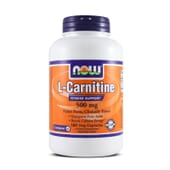 L-CARNITINE 500mg 180 VCaps - NOW FOODS