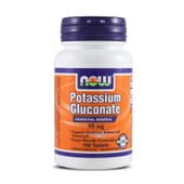 POTASSIUM GLUCONATE 99mg 100 Tabs - NOW FOODS