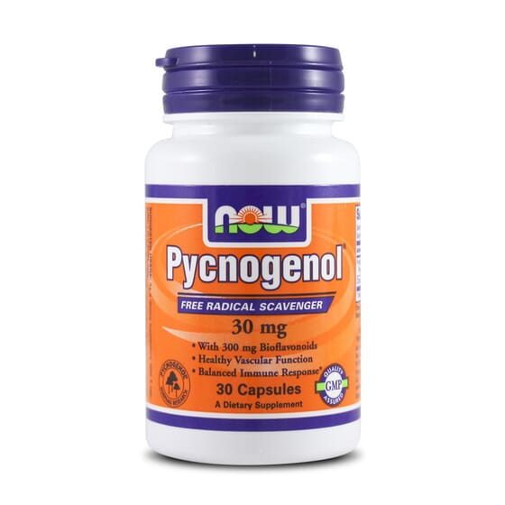 Pycnogenol 30Mg 30 Caps da Now Foods