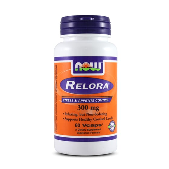 RELORA 300mg 60 VCaps - NOW FOODS