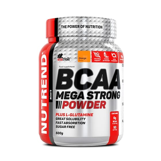 Bcaa Mega Strong Powder 500g de Nutrend