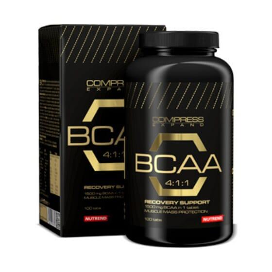 Compress Expand Bcaa 4:1:1 100 Tabs de Nutrend