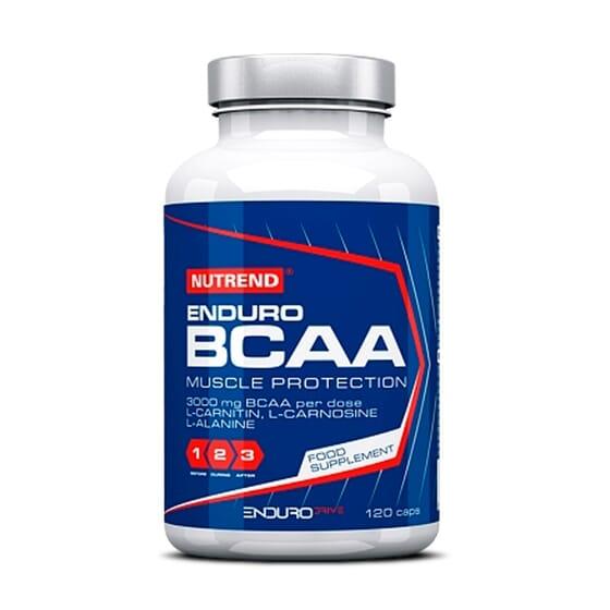 BCAA ENDURO 120 Caps - (Enduro Drive) NUTREND