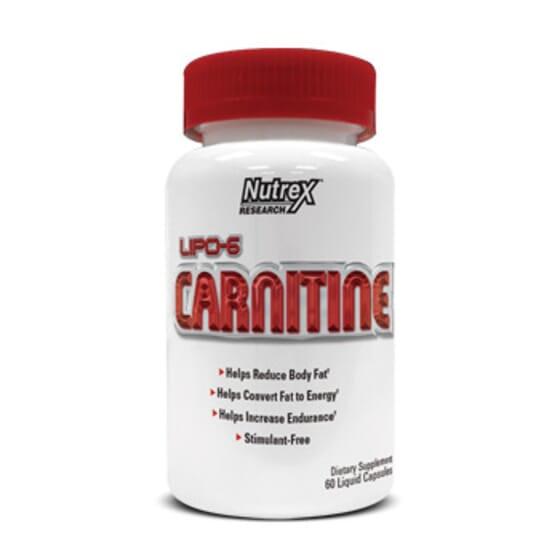 Lipo 6 Carnitine 120 Caps de Nutrex