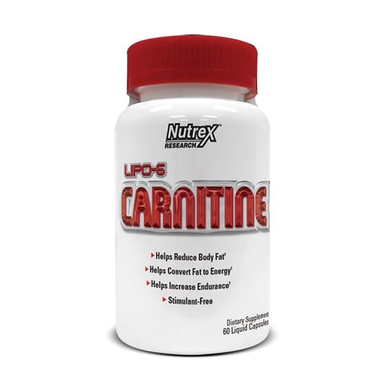 Lipo 6 Carnitine 60 Caps da Nutrex