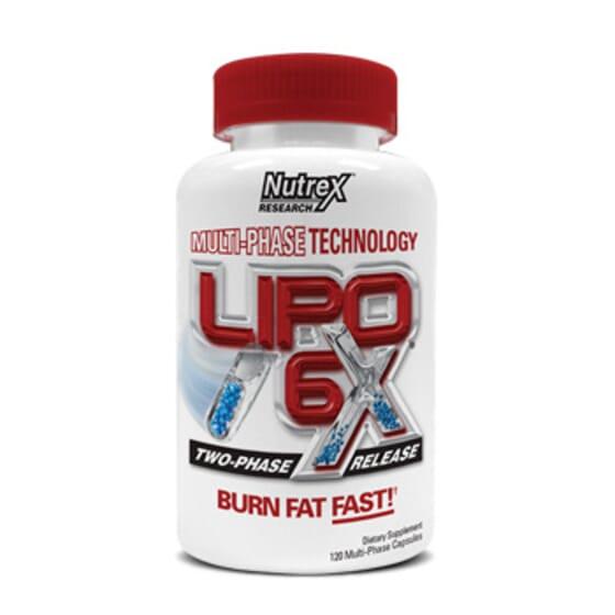 Lipo 6 Black Zsírégető 120 kapsz - Nutrex termék információ