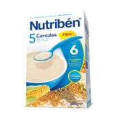 5 Cereais Fibra 600g da Nutribén