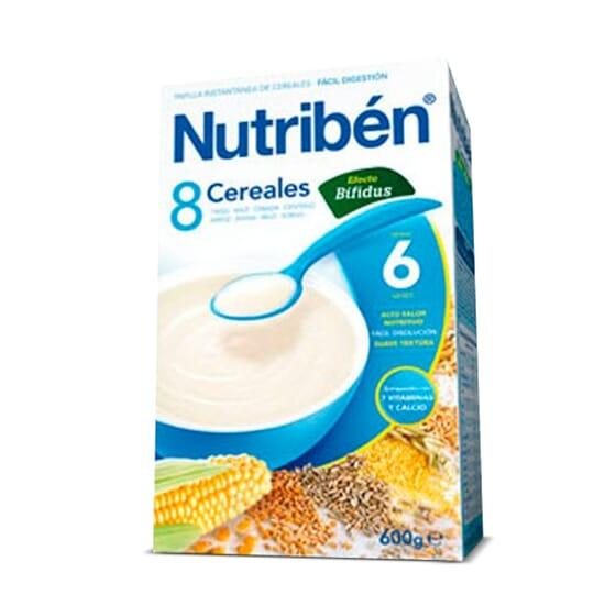 8 CEREALES DIGEST 600g - NUTRIBEN