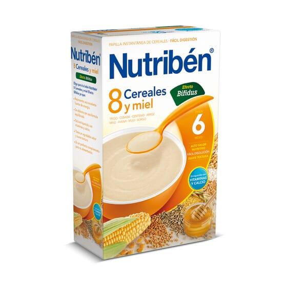 8 Cereais Mel Digest 600g da Nutribén