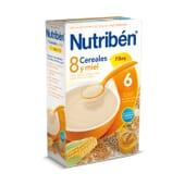 8 Cereais Mel Fibra 600g da Nutribén
