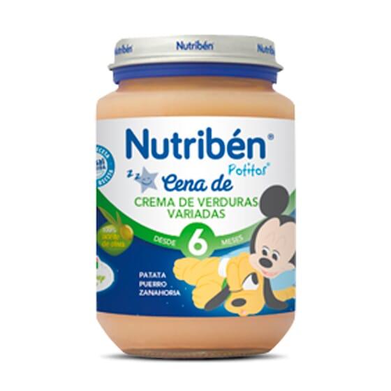 Boiões Jantar Creme De Verduras Variados 200g da Nutribén