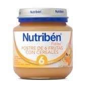 POTITOS POSTRE 6 FRUTAS CON CEREALES 130g - NUTRIBEN