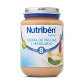 Boiões Creme De Batatas E Linguado 200g da Nutribén