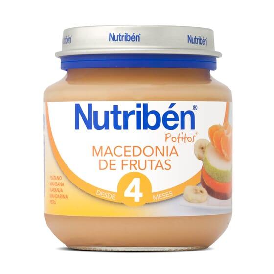 POTITOS MACEDONIA DE FRUTAS 130g - NUTRIBEN