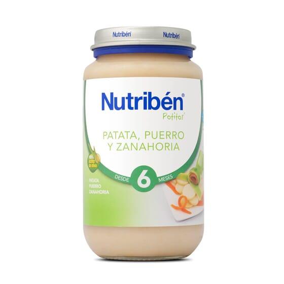 POTITOS PATATA PUERRO Y ZANAHORIA 250g - NUTRIBEN