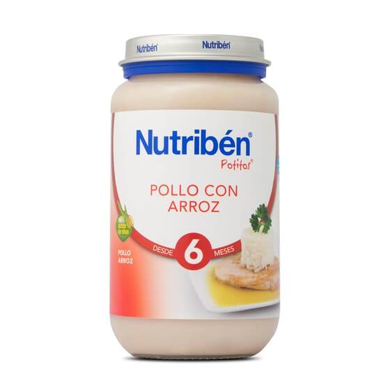POTITOS POLLO CON ARROZ 250g - NUTRIBEN