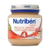 POTITOS POLLO Y JAMON CON VERDURAS 130g - NUTRIBEN