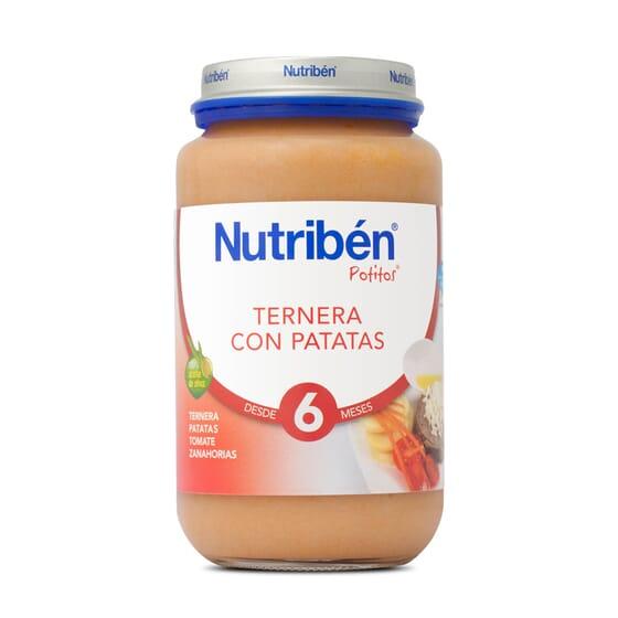 POTITOS TERNERA CON PATATAS 250g - NUTRIBEN
