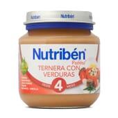 POTITOS TERNERA CON VERDURAS 130g - NUTRIBEN